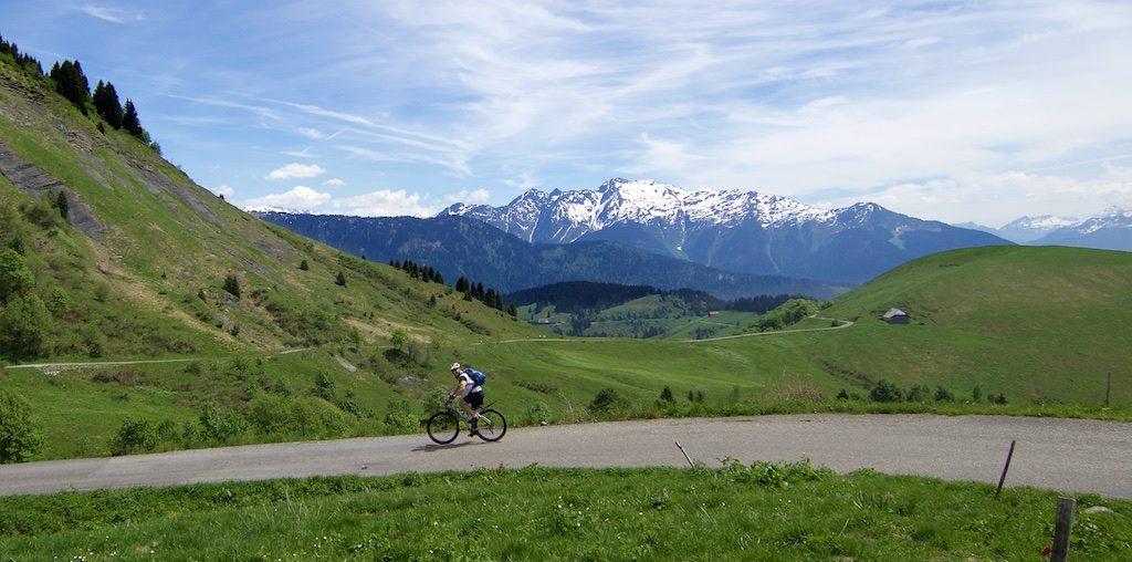 Mont Blanc in distance