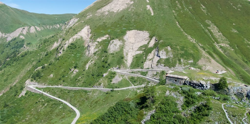 Fort delle Finestre above the colle