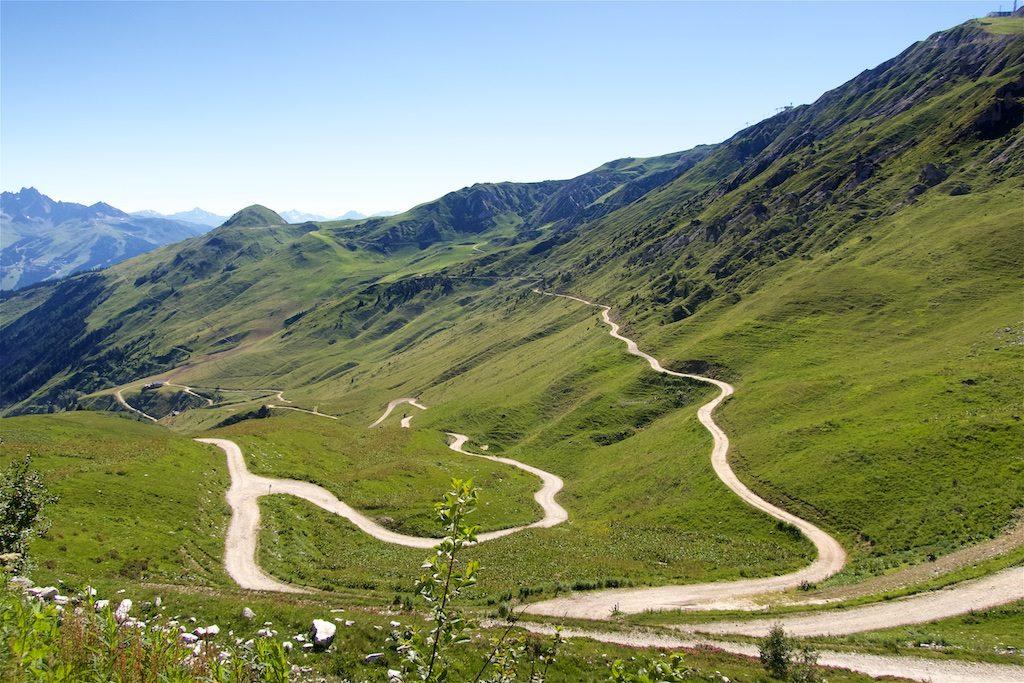 Next, the ridge road on right