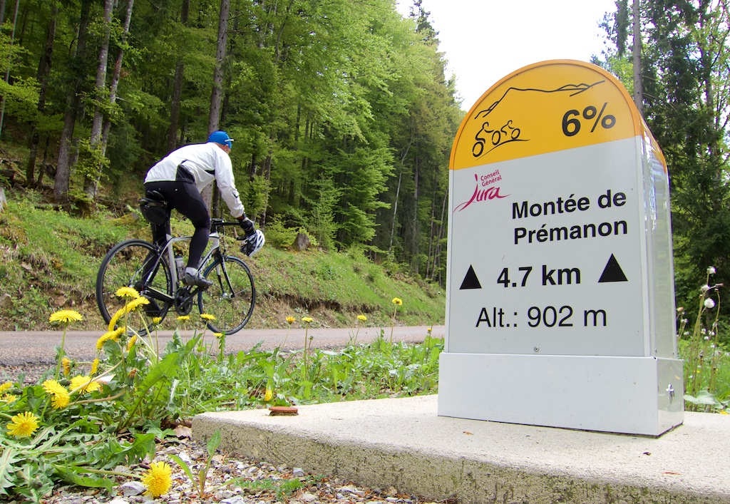 Montee de Premanon