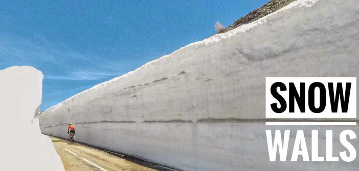 Col du Petit Saint Bernard – Snow walls!