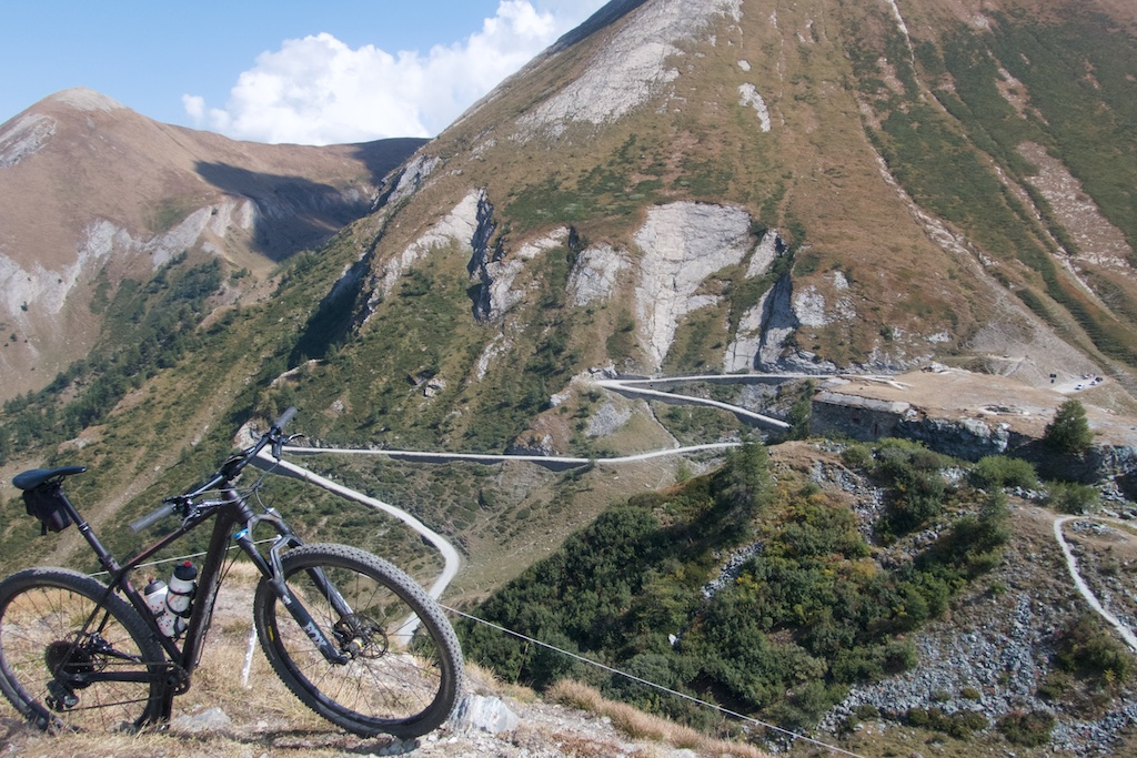 """Forty of the Highest Unpaved Cycling """"Roads"""" in the Alps"""