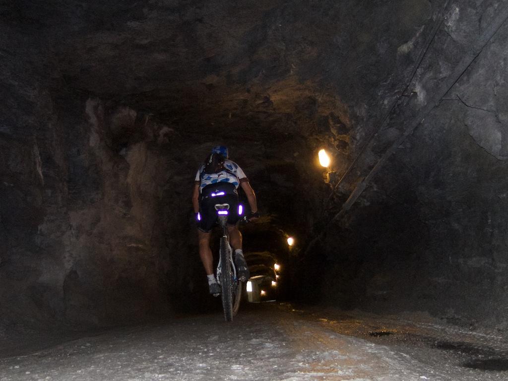 LONG -- secret passage to trail beside Lac de Mauvoisin