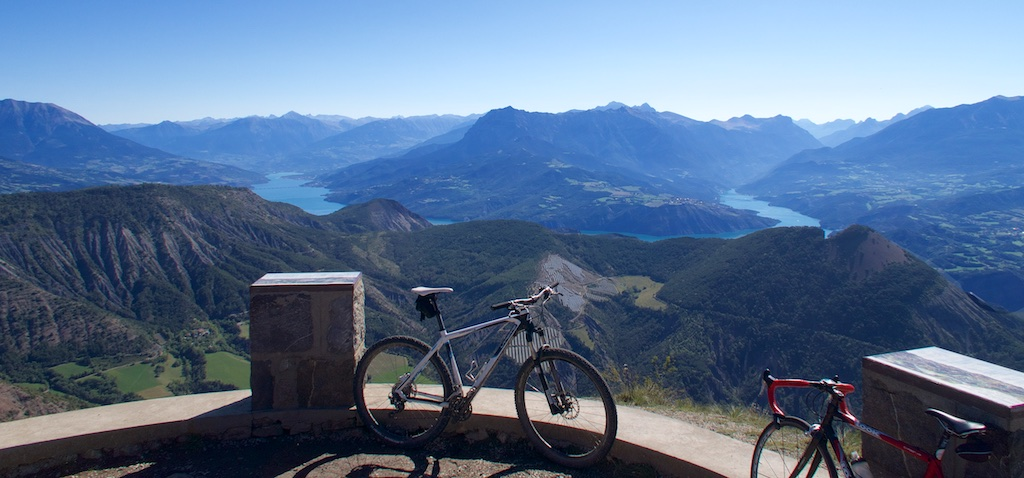 View from Mont Colombis